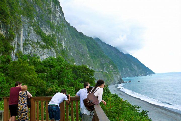 Qingshui Cliffs in Taroko Gorge NP