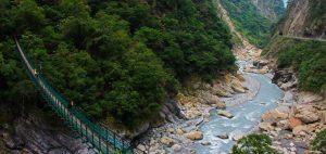 Taroko Gorge Swallow Grotto Bridge