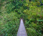 Taroko Temple Bridge