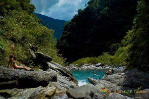 Emerald Valley on our Mugua River Gorge tour. Mugumuyu tour, Mugumugi tour.
