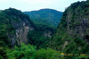 Fungshuiliao Gorge, East Coast Taiwan on Hualien Tour