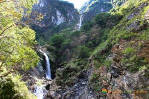 Taroko Gorge National Park Baiyang Waterfalls
