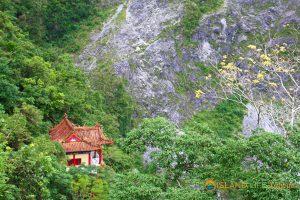 Eternal Spring Shrine Trail in Taroko Gorge National Park on our Taroko Gorge Tour