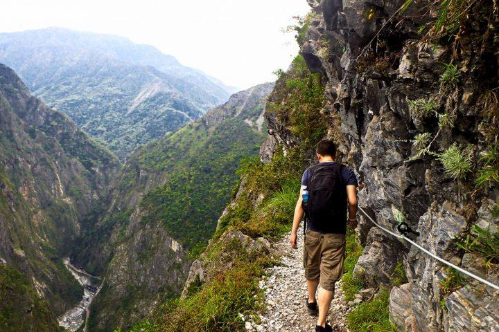 Jhuilu Old Trail Tour, Zhuilu Old Trail Tour, Taroko Gorge, Hualien Taiwan