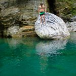 Swimming, Taroko Gorge National Park