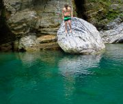 Swimming, Taroko Gorge National Park