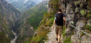 Zhuilu old trail tour in taroko gorge, jhuilu old trail