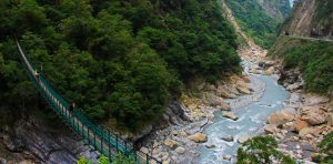 Taroko Gorge Swallow Grotto Bridge