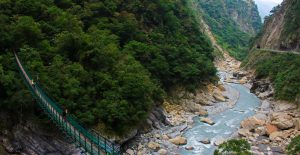 Taroko Swallow Grotto Bridge