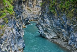 Swallow Grotto in Taroko Gorge National Park