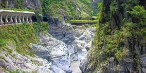 Taroko gorge tour in taroko gorge national park