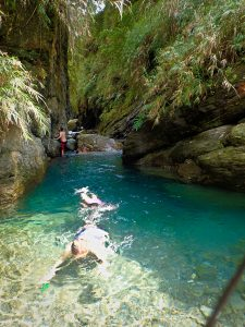 What to do in Hualien? Swim in the Mugua River Gorge of course!