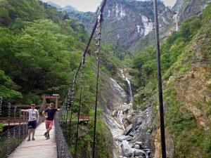 Baiyang Waterfalls, Taroko Gorge National Park