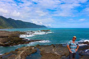 Shihtiping on a Hualien East Coast Tour