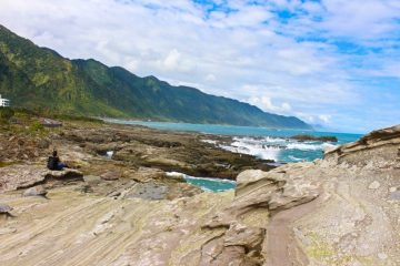 Shihtiping on east coast explorer tour in hualien