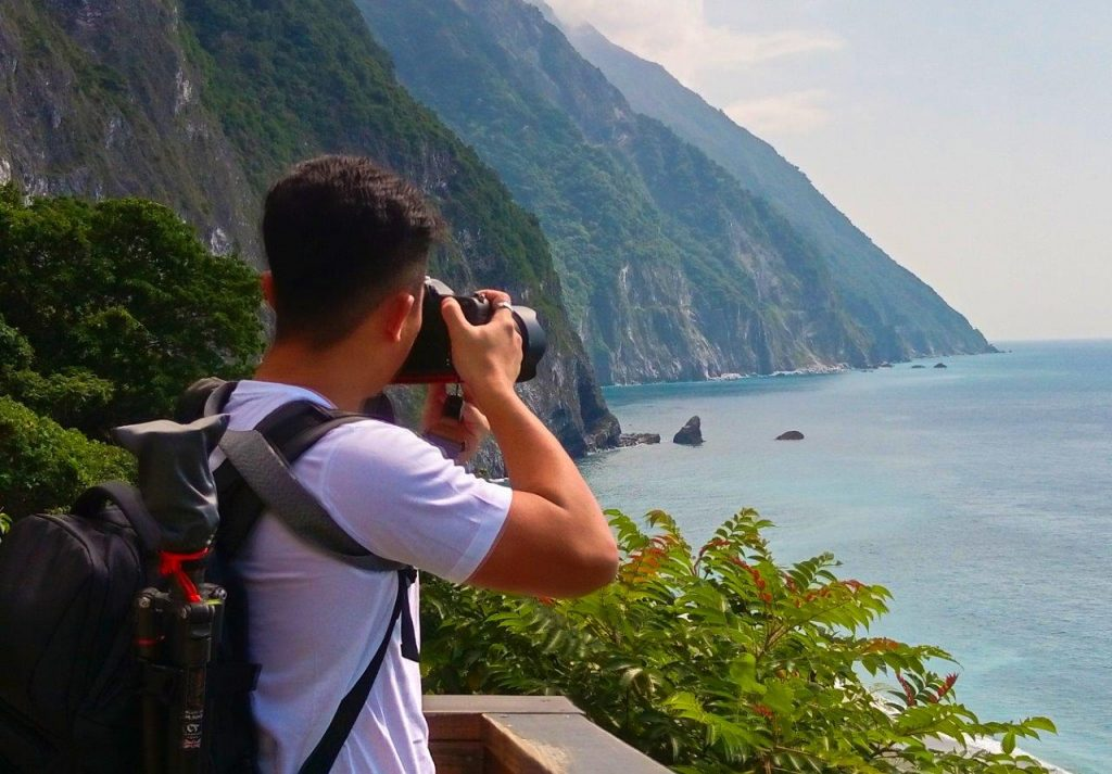 Huide Trail, Qingshui Cliffs, Taroko Gorge National Park