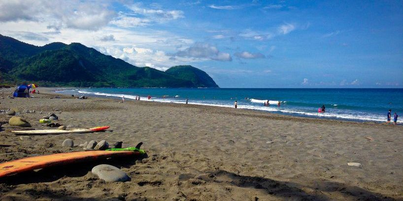 hualien beaches, the best beaches in hualien