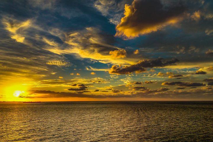 Sunrise Over The Sea!