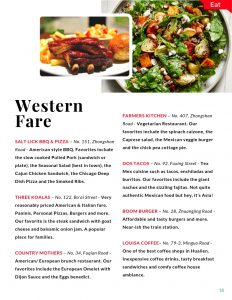 Hualien Visitors Guide Western Restaurants