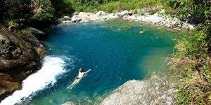 Mugua River Gorge emerald Valley
