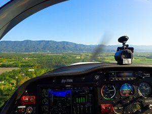 Hualien Flight Cockpit View