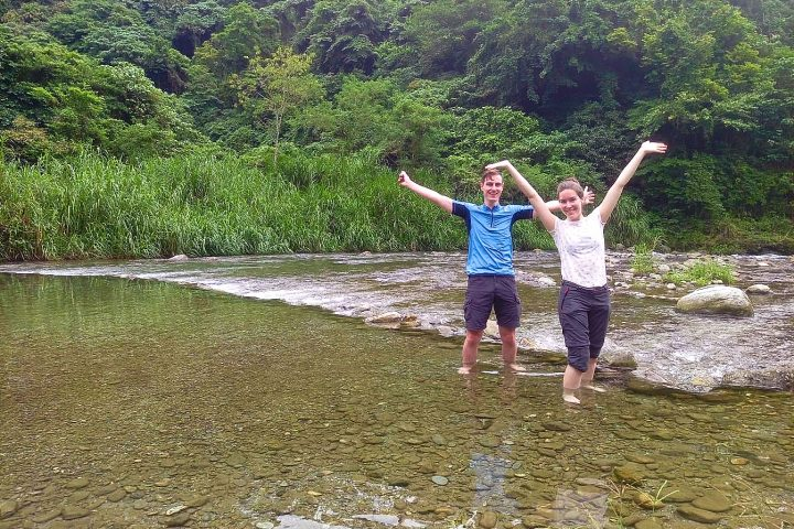 Mugua River Gorge Tour on Hualien tour with East Rift Valley