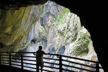 What to do in Hualien? Check out these Hualien attractions: Swallow Grotto in Taroko Gorge National Park on our Taroko Gorge Tour