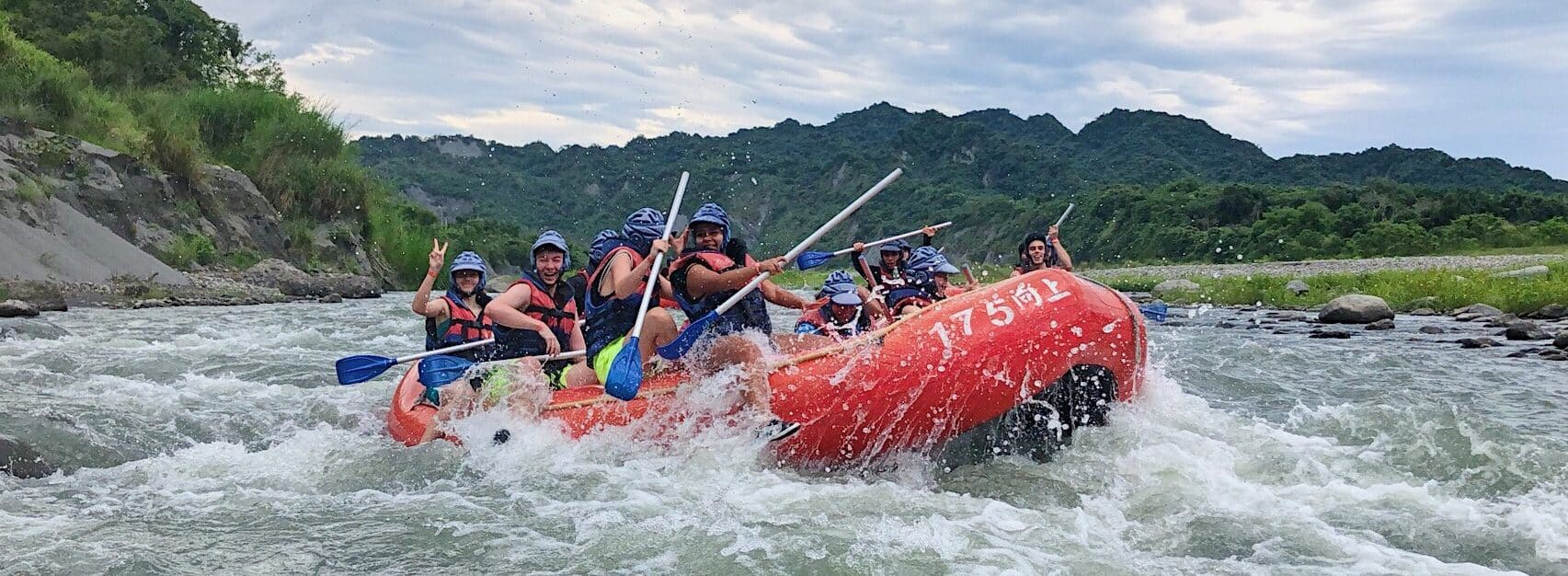 Xiuguluan River Rafting